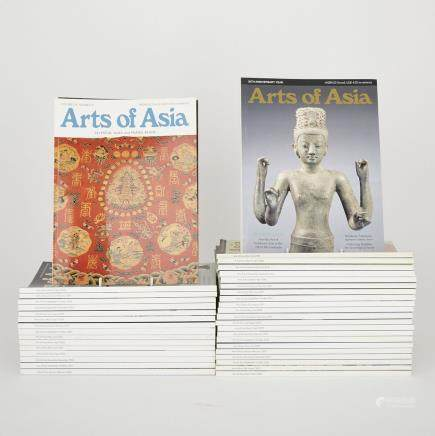 A Group of Forty-Two Arts of Asia Magazines (2000-2006) (42 Pieces)