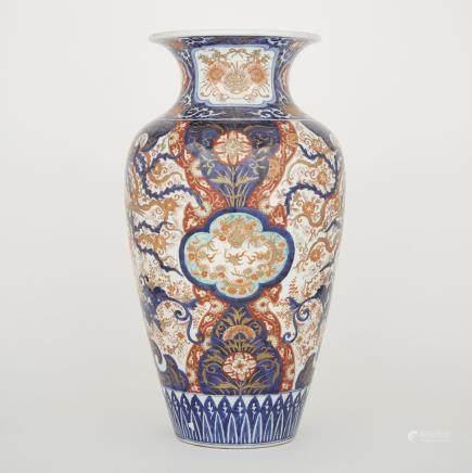 "A Large Japanese Imari Vase, height 22"" — 55.9 cm."