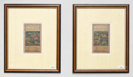 2 Miniaturmalereien