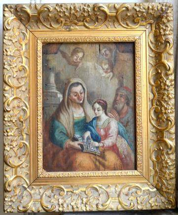17th/18th C European; Education Virgin Mary