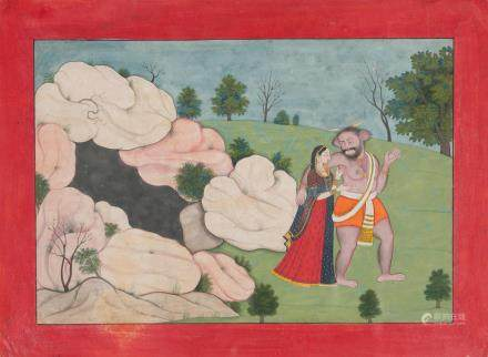 SAMBARA AND RATI GULER, CIRCA 1830