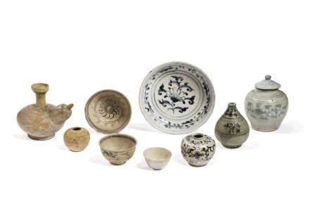 Lot composé de 9 objets