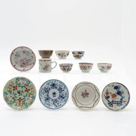 Lot of Cups & Saucers