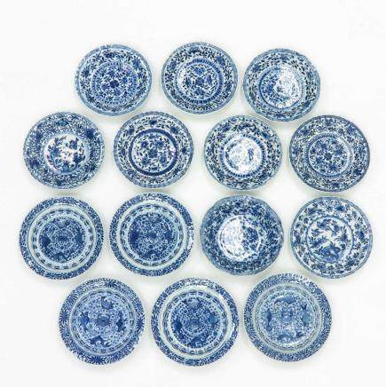 Lot of 14 Saucers