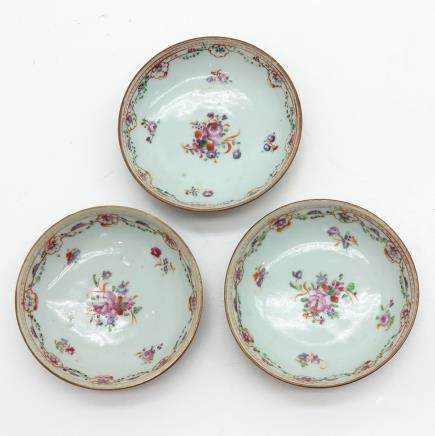 Lot of 3 Saucers