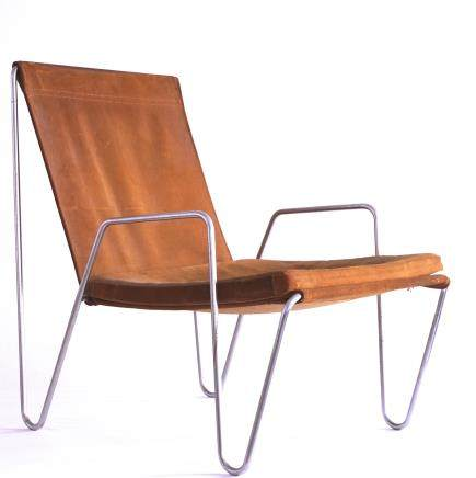 "A set of 3 Verner Panton ""Bachelor Chairs"", design 1956, Fritz Hansen Denmark"