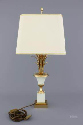 A fine Maison Charles style lamp with square shape, 2nd half 20th C.