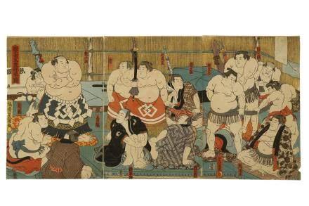 UTAGAWA KUNISADA (1786 - 1865)