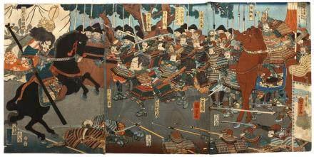 UTAGAWA KUNIYOSHI (1798 – 1861)