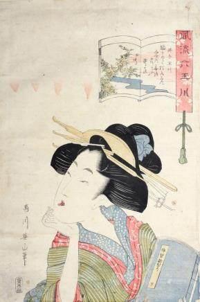 KIKUGAWA EIZAN (1787 - 1867)