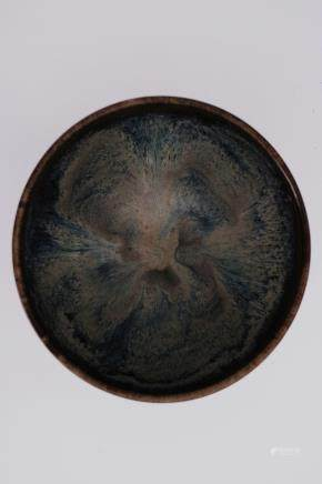 A BLUE GLAZE BOWL