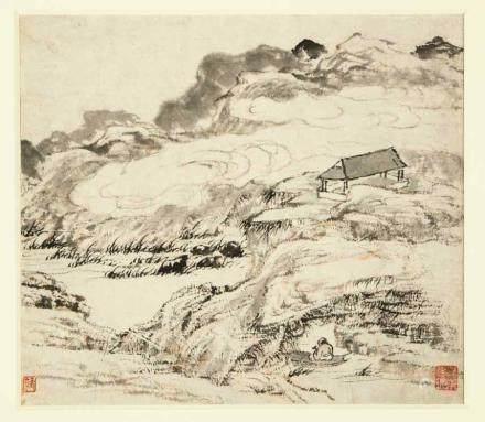 羅烜 (活躍於18世紀)山水