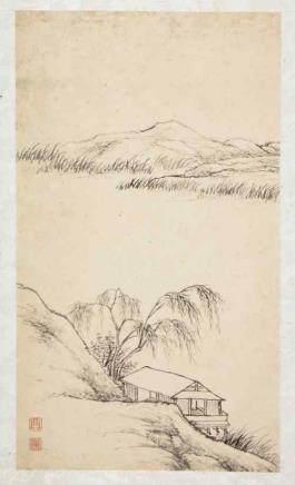 張之萬 1810-1897山水