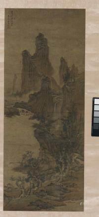 劉度 (活躍于1630-1672) 仿李成山水