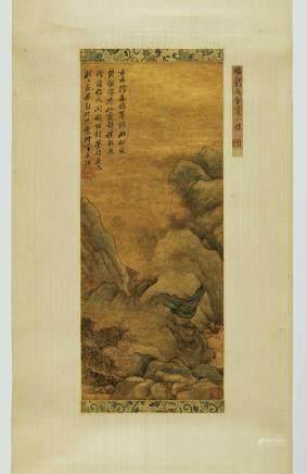 楊文驄 1596-1646 古寺飛泉