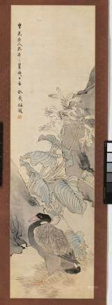 任預 1853-1901 大雁百合
