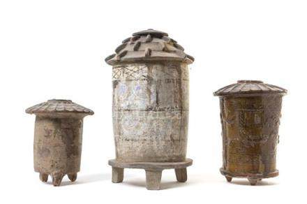 Three Pottery Granaries