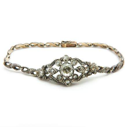 19th Century Diamond Bracelet