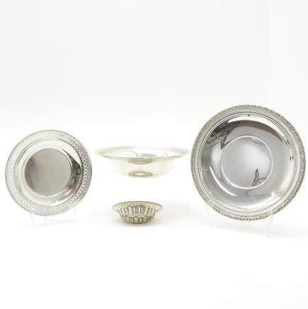 Lot of 4 Sterling Silver Items