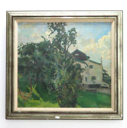 Signed Cees Bolding Oil on Canvas