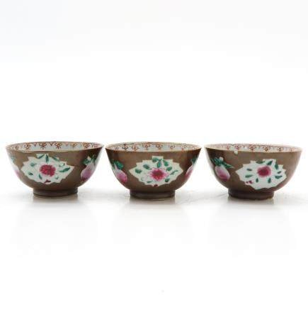 Lot of 3 Bowls