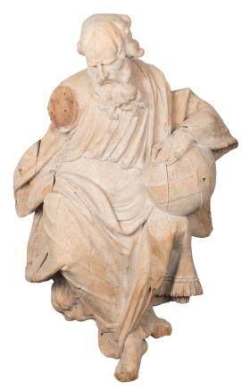 A limewood sculpture