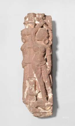 Architektur-Fragment Zentralindien,