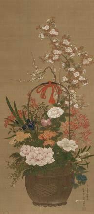 Malerei Japan.