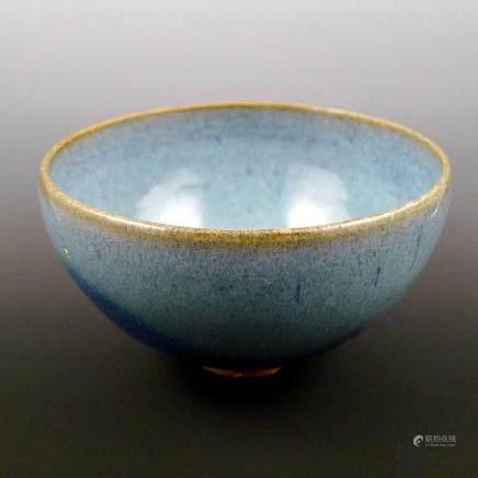Chinese purple splashed Jun bowl