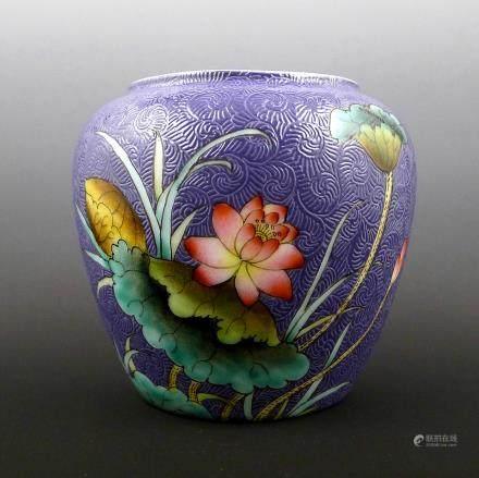 Chinese Pastel Pot