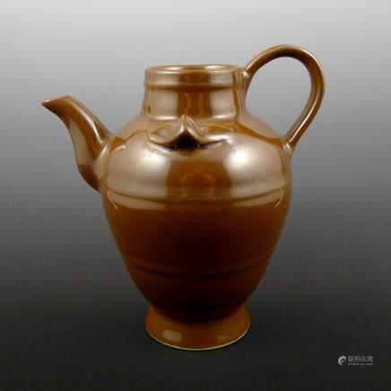 Yuan Dynasty Purple Gold Glaze Pot