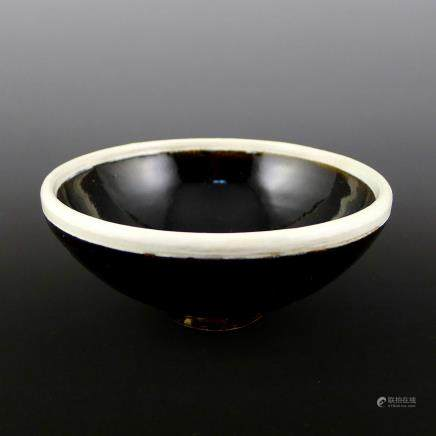 Song Dynasty Black Glaze Bowl