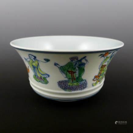 Qing Dynasty Yongzheng Doucai Bowl