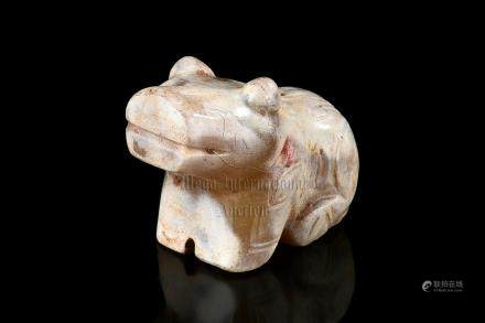 JADE CARVED 'BEAR' ORNAMENT