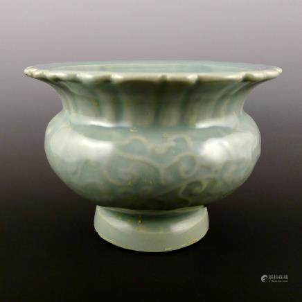 Yuan Dynasty Longquan Kiln Pot