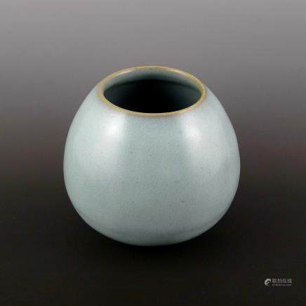 Jin Dynasty white glaze Jun porcelain Pot