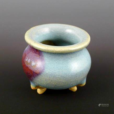 Yuan Dynasty Jun Kiln in red glaze burner