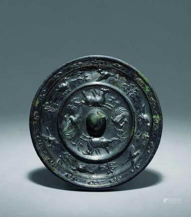 唐 青銅四神鏡