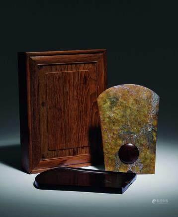 文化時期 古玉斧