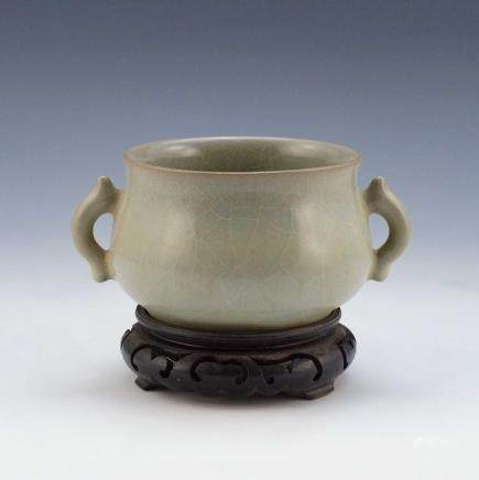CHINESE GUAN WARE CENSER