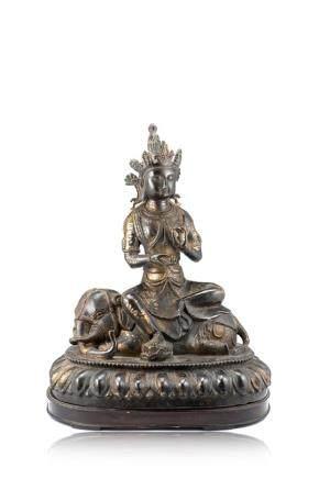明 十七世紀 銅雕佛像