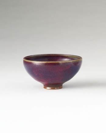 元 钧窑紫斑碗