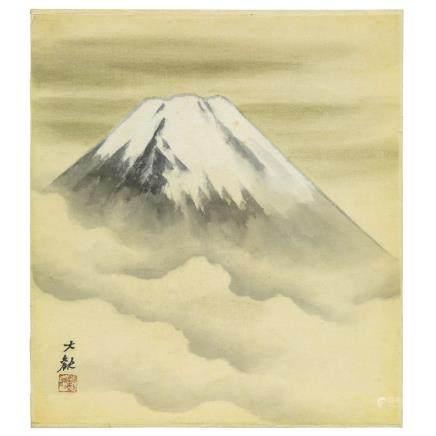 横山 大觀 富士