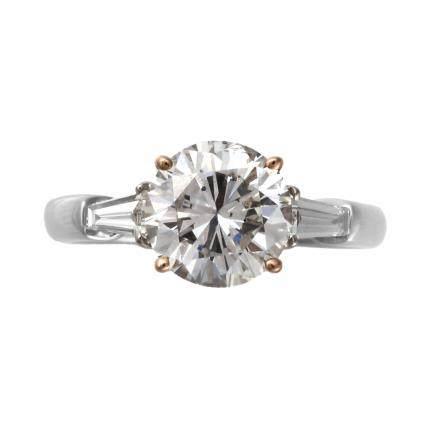 2.01 ct 鑽石 鉑金戒指