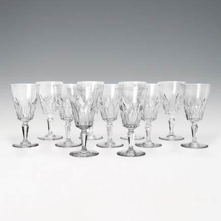 巴卡拉 酒杯「卡爾卡松」 11件