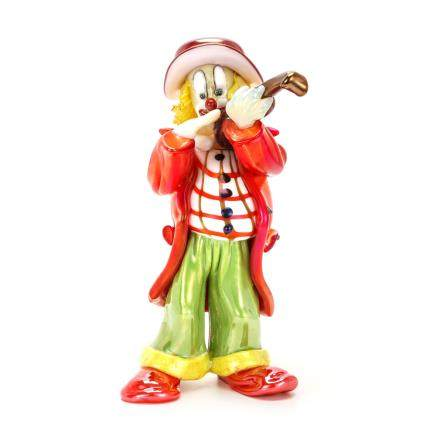 皮諾‧席諾瑞託 拉小提琴的小丑