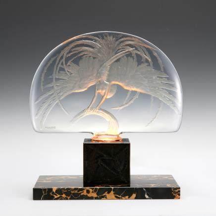 勒内・拉利克 中央擺飾「紅火鳥」