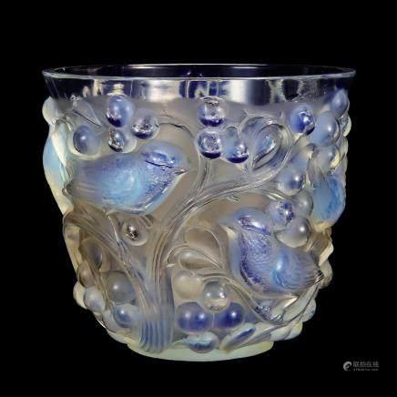 勒内・拉利克 花瓶「阿瓦隆」