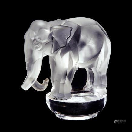 勒内・拉利克 鎮紙 「象」