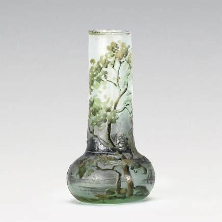 杜姆兄弟 夏景紋花瓶